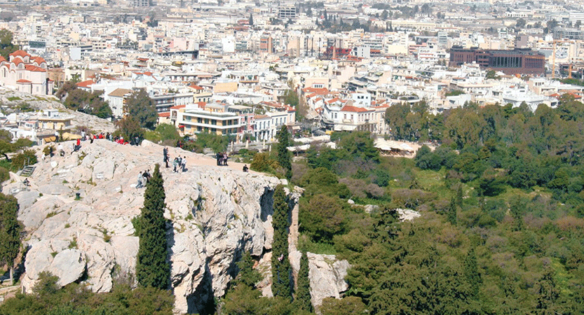 Paul's Encounters in Athens