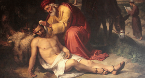 Parable of the Good Samaritan: Initial Observations