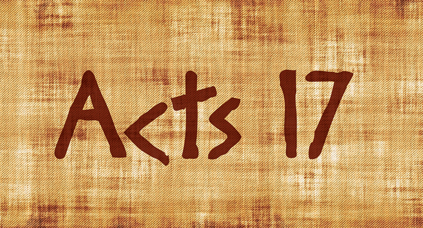 Outlining Acts 17